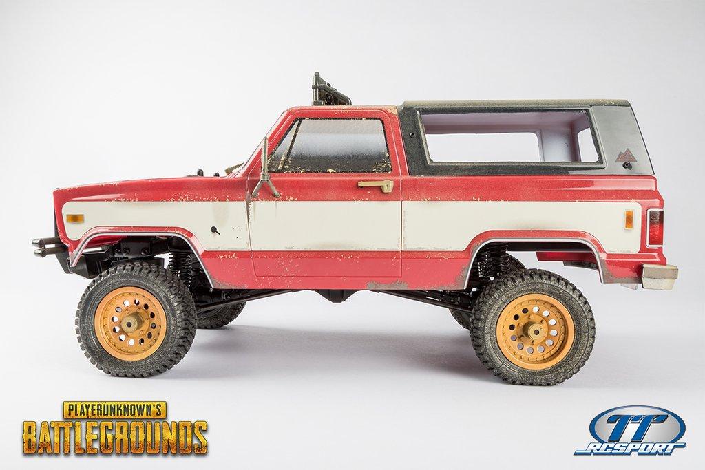Thunder Tiger PUBG 4x4 American Pickup Truck - Side
