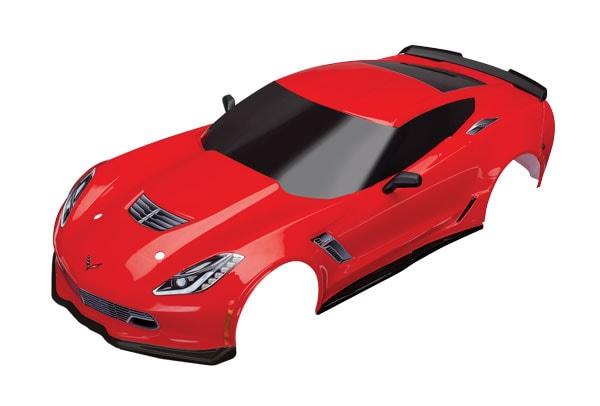 Four New Corvette ZR6 Bodies for the Traxxas 4-Tec 2.0