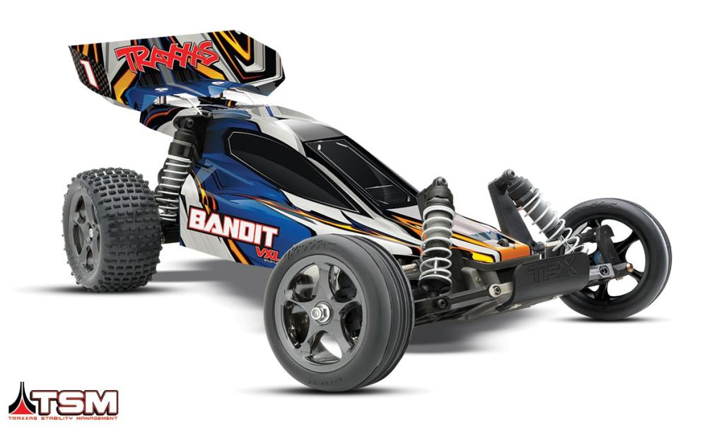 Traxxas Bandit VXL with Traxxas Stability Management