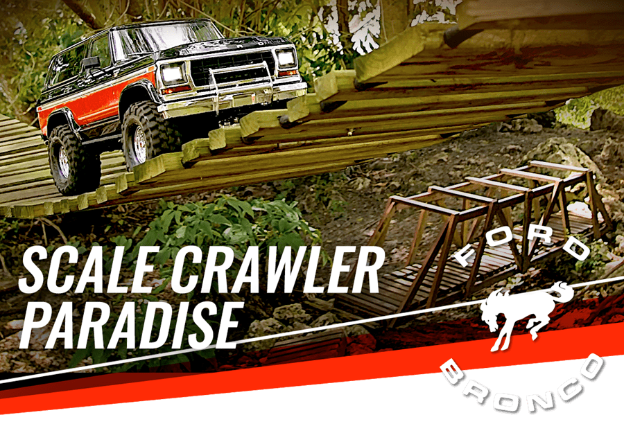 Take a Trip Through an Extreme Crawling Course with a Traxxas TRX-4 Ford Bronco [Video]