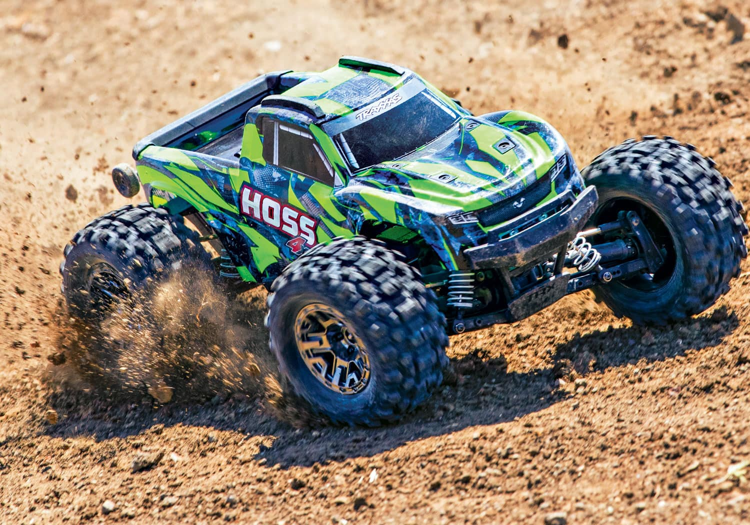 See it in Action: Traxxas Hoss 4×4 VXL [Video]