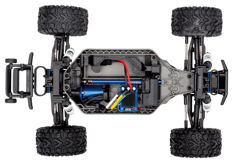 Traxxas Rustler 4x4 VXL - Chassis Top