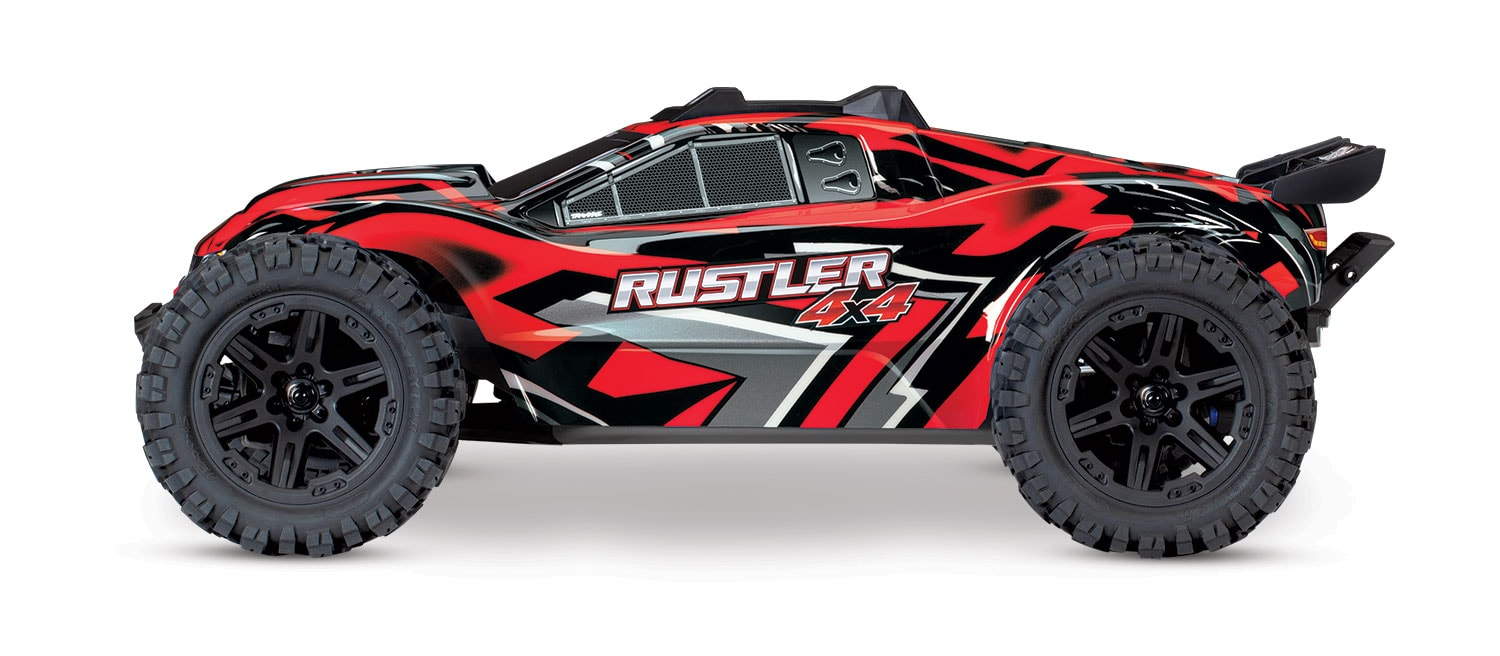 Traxxas Rustler 4x4 with Titan Power - Side