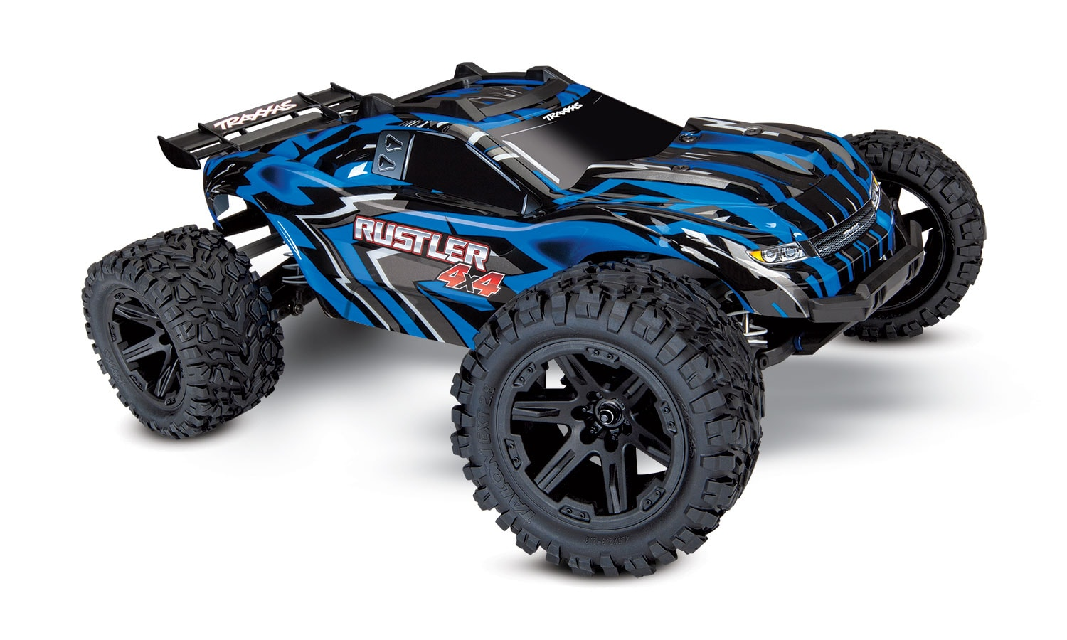 Traxxas Rustler 4×4 Stadium Truck, Now with Titan Power