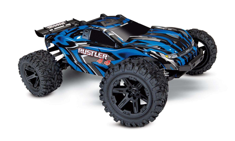 Traxxas Rustler 4×4 Stadium Truck, Now with Titan Power