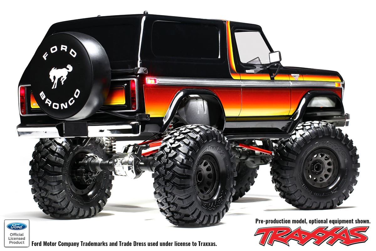 Traxxas TRX-4 1979 Ford Bronco - Rear