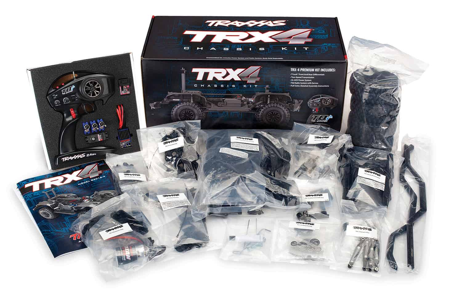 Traxxas TRX-4 Assembly Kit - What's Included