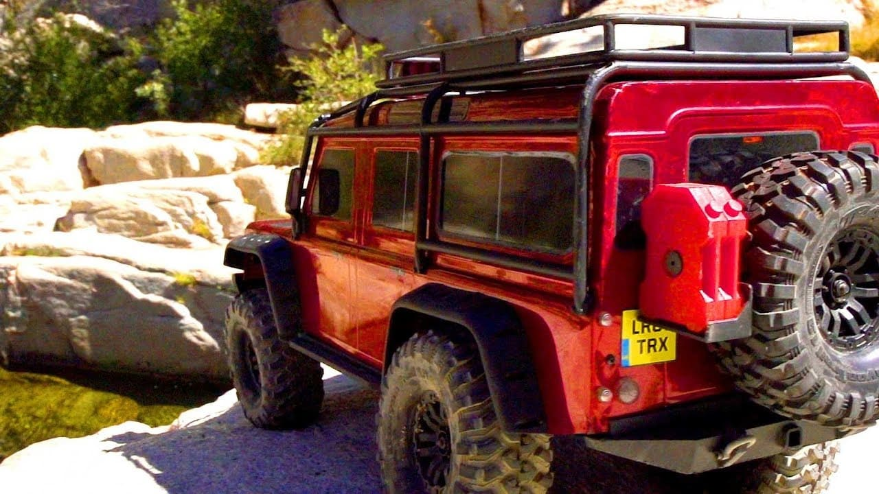 Traxxas Takes Their Classic TRX-4 Defender on a California Adventure [Video]