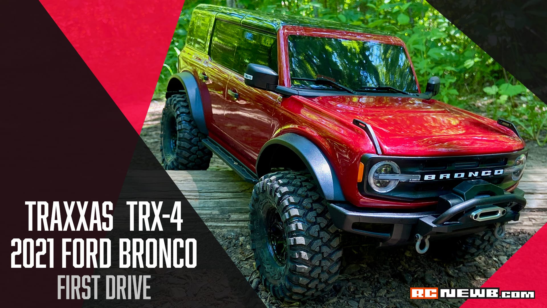 Out on the Trail with the Traxxas TRX-4 2021 Ford Bronco [Video]