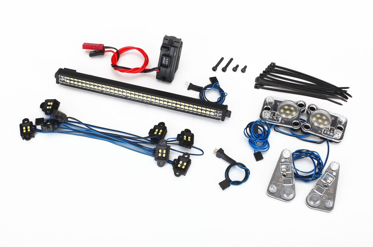 Traxxas TRX-4 LED Kit - All Components
