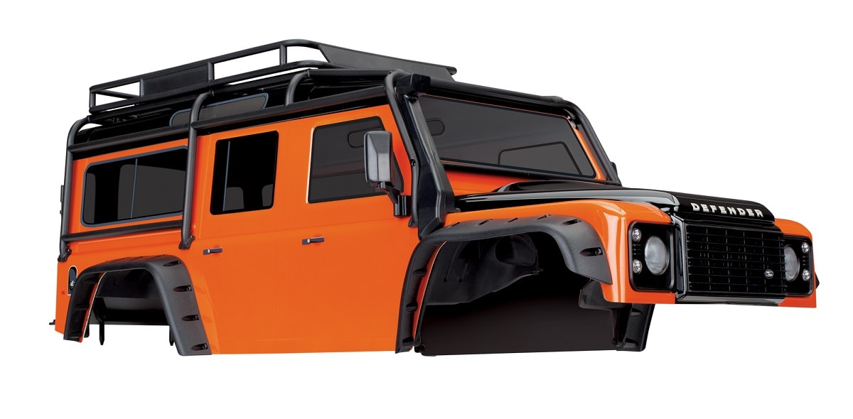"Traxxas TRX-4 Land Rover Defender ""Adventure Orange"" Body"