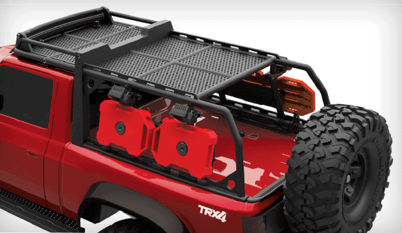 Traxxas TRX-4 Sport Accessories - Rear View