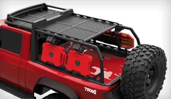 Traxxas TRX-4 Sport Accessories - Rear View