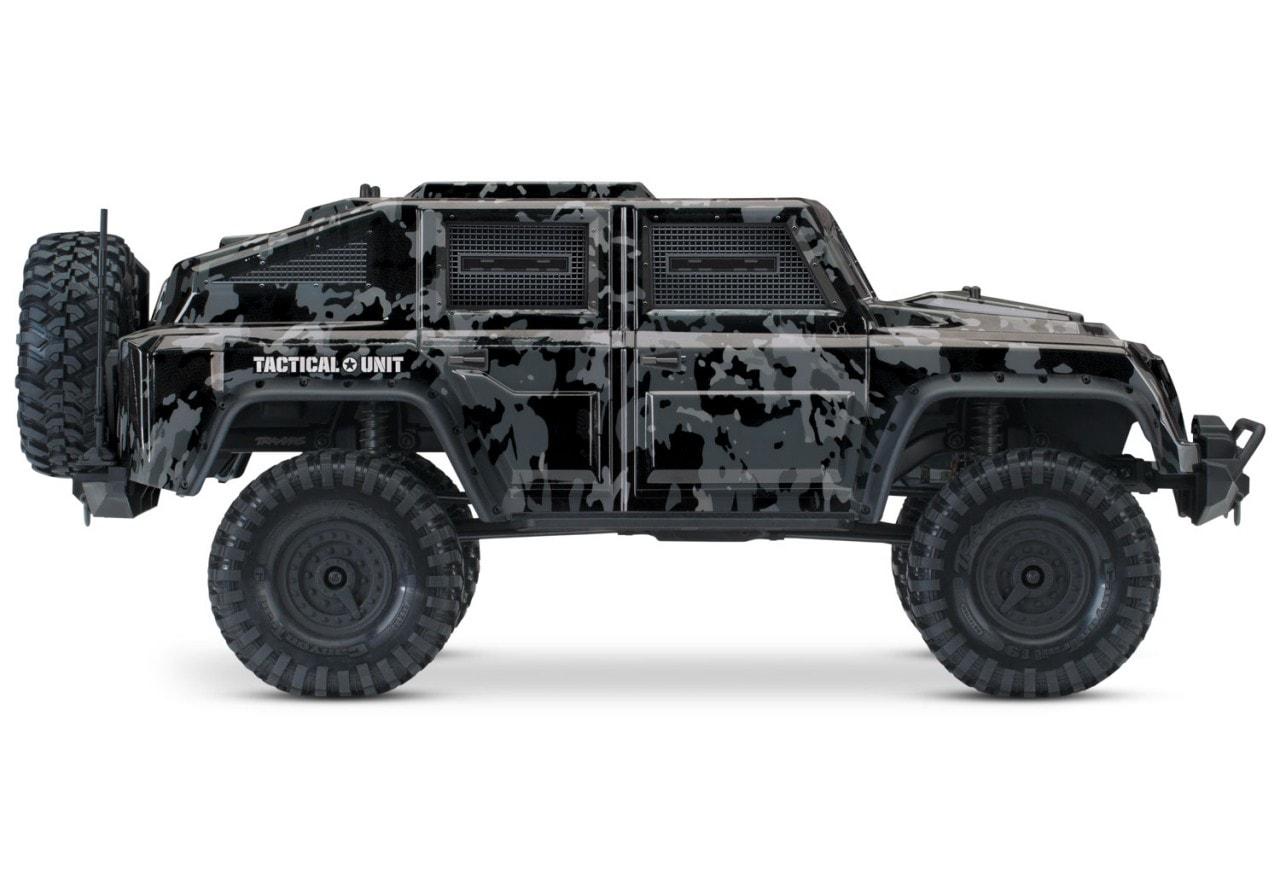 Traxxas TRX-4 Tactical Unit RC Scaler - Side