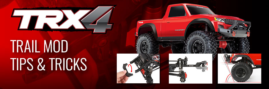 "Traxxas Shares Tips for Turning the TRX-4 Sport into a ""Comp"" Contender"