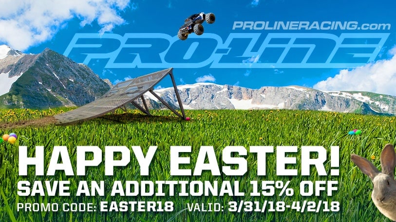 Springtime Savings: Pro-Line's Easter Sale