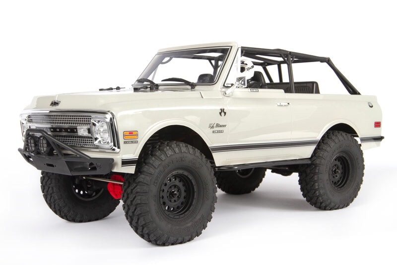 Axial's 1969 Chevrolet K5 Blazer Clear Body Set for the SCX10 II