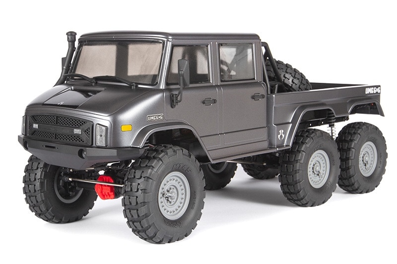 More Wheels for More Fun: Axial's SCX10 II UMG 6×6 R/C Crawler