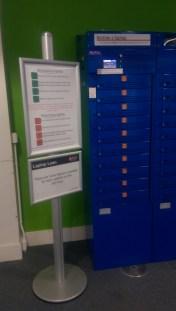 Loan Laptop cupboard