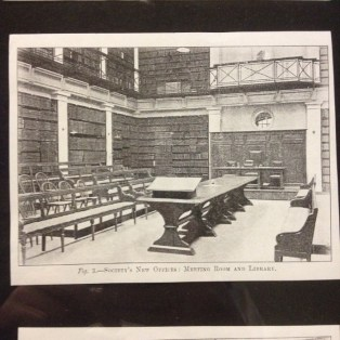 ZSL Library in 1910