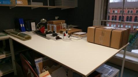 VandA Processing Desk