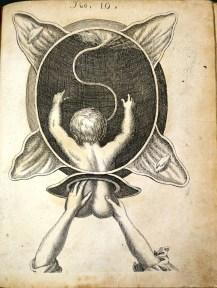 Guiding out a breech (1690)