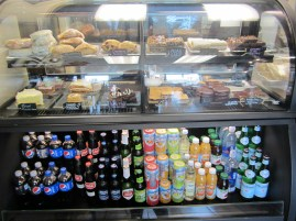 Beer and beverages, Pastery window