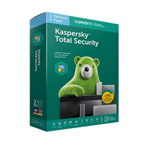 Kaspersky Total Security 1 User 3 Years