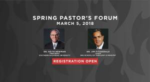 Spring 2018 Pastor's Forum