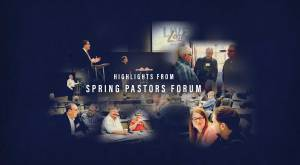 Pastors Forum - Spring Collage