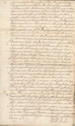 The Barbers of Edinburgh against the Wigmakers of Edinburgh, 1761