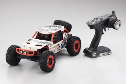 Kyosho 2WD AXXE T1 Buggy 1/10 (RTR, 2.4GHz) White