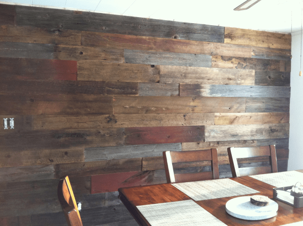 Out Of The Ordinary Reclaimed Wood Projects Restaurant