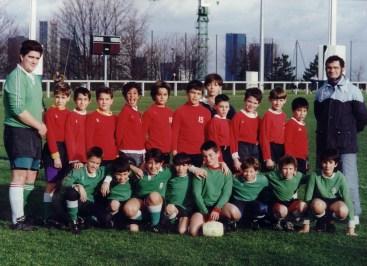 Ecole de Rugby 1992-1993