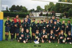 Ecole de rugby 1998-1999