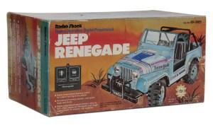 Tandy/Radio Shack Jeep Renegade