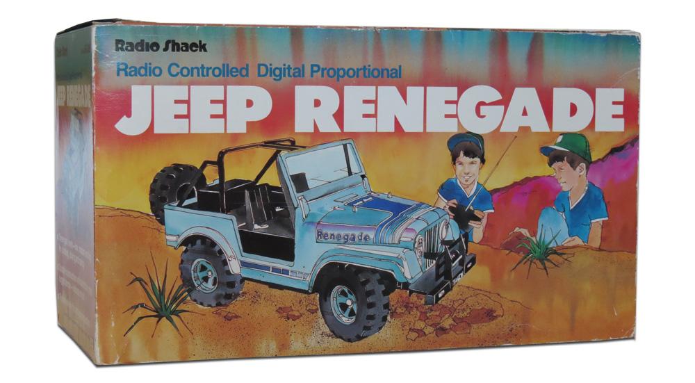 Tandy/Radio Shack Jeep Renegade (1984) - R/C Toy Memories