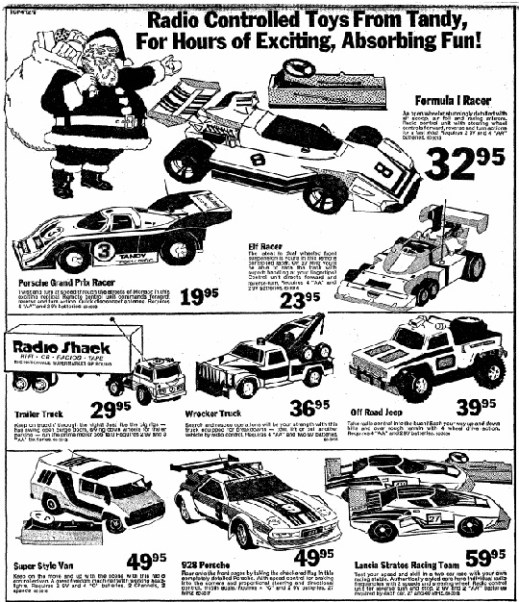 Tandy newspaper ad, Sydney Morning Herald, 9 December, 1979
