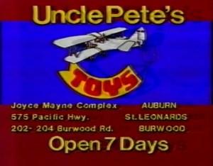 Uncle Pete's Toys