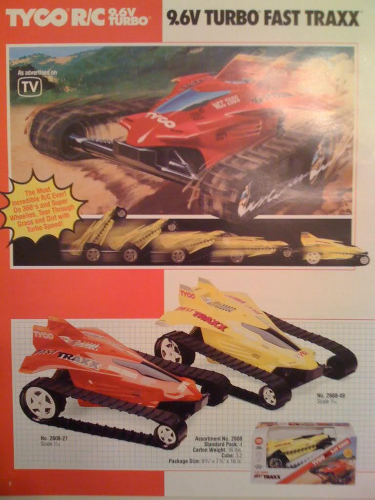 Taiyo Fast Traxx (1990) - R/C Toy Memories