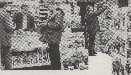 Ren Models in Cambridge, UK, in 1982