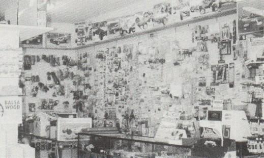 Zanter Hobbies, Narrabeen, NSW, Australia in 1988