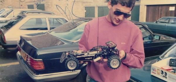 Ayrton Senna's Hotshot - First time driving the model, 1986