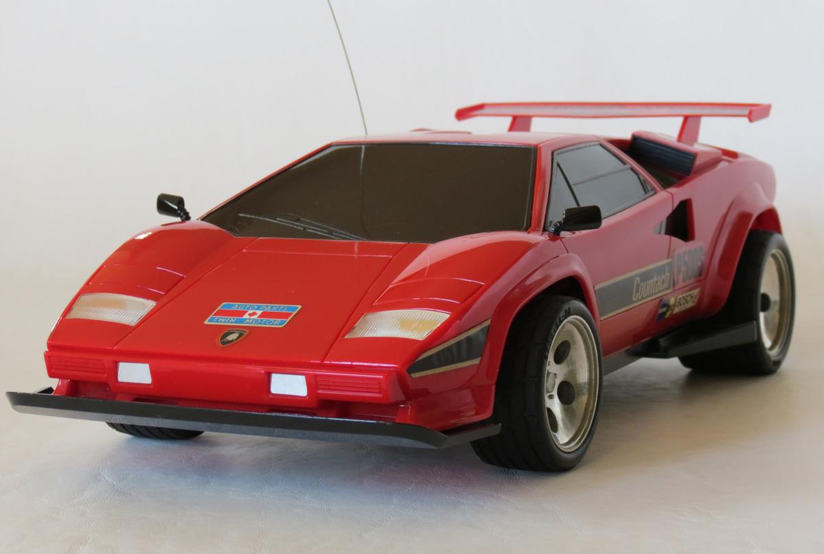 Taiyo Lamborghini Countach Lp500s 1987 R C Toy Memories