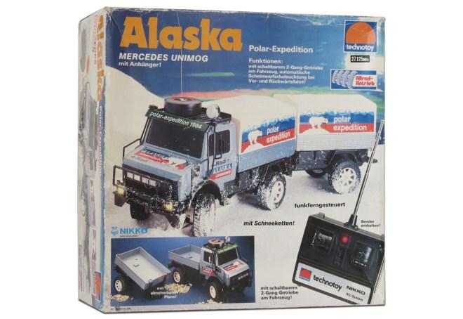 Technotoy/Nikko Alaska Polar-Expedition Mercedes Unimog