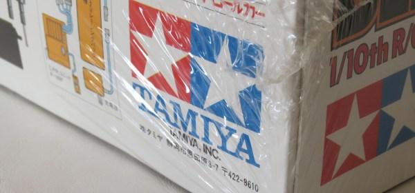 Vintage Tamiya kit sealed in shrink-wrap