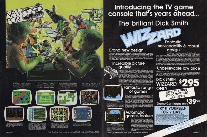 Dick Smith Electronics Wizzard