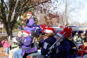 Brass Ensemble on Parade