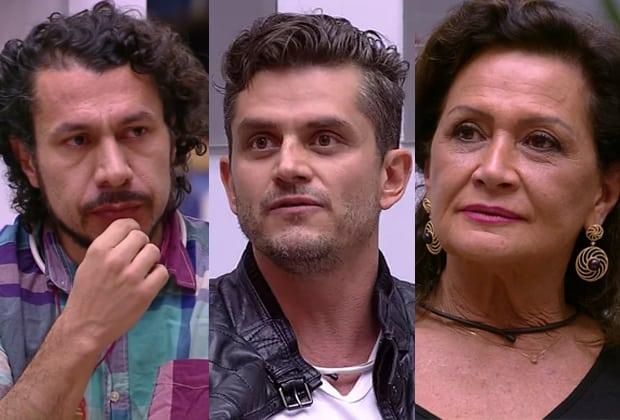 Rômulo, Marcos e Ieda disputam oitavo paredão do BBB17; votação foi aberta