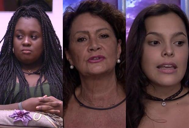 Roberta, Ieda e Emilly foram as indicadas para este sétimo paredão do BBB17